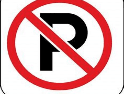 No Parking PNG